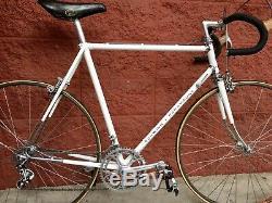 VINTAGE 1974 SCHWINN PARAMOUNT Road Bike S/N C7454 White CAMPAGNOLO 1 Owner