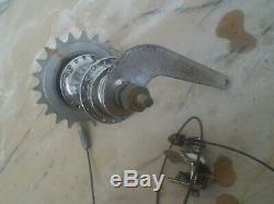 VINTAGE BICYCLE PREWAR SCHWINN 2 speed hub new deperture autocycle elgin monark