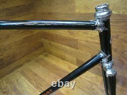 VINTAGE SCHWINN PARAMOUNT REYNODS 531 LUGGED STEEL ROAD BIKE FRAME SET 56 x 58