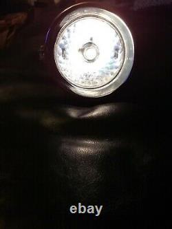 VINTAGE SCHWINN STINGRAY KRATE PUMPKIN HEADLIGHT WORKS WithBRACKET NICE COND L$$K