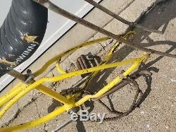 VIntage Schwinn 20 Stingray Yellow Frame withSeat