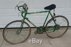 VTG schwinn varsity 10 speed Green mens Bicycle Bike 1970s TOLEDO OHIO PICK UP