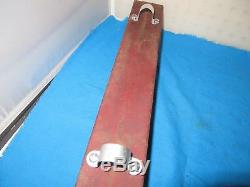 Vintage 1928 MotoBike Hanging Tool Box Tank Used