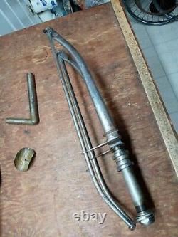 Vintage 1935 prewar Schwinn double diamond Mead Ranger mens Bicycle frame & Fork