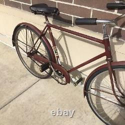 Vintage 1948 Arnold Schwinn New World Cruiser Bicycle Made in Chicago Local Pick