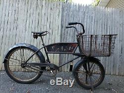Vintage 1950 Schwinn U. S. Mail Cycle Truck