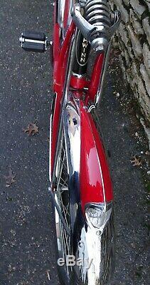 Vintage 1953 Schwinn Red Phantom Bicycle