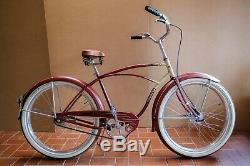 Vintage 1953 Schwinn Wasp 26 Fully Restored / Original Patina