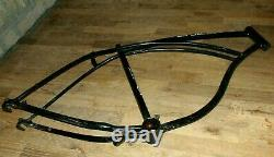 Vintage 1960 Schwinn Corvette Bicycle Black 26 Frame H 26