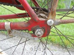 Vintage 1961 Schwinn 20 Boys Tornado Bike frame chain guard S-7 wheels fenders
