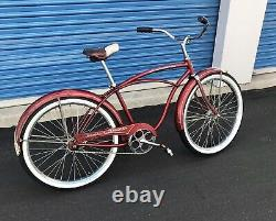 Vintage 1961 Schwinn Speedster 24man's Bicycle