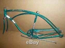 Vintage 1961 Schwinn Tiger Frame Fork Guard Crank Sprocket 26 Cruiser Bike