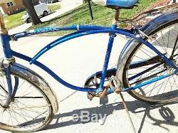 Vintage 1962 Schwinn Corvette 26 Bicycle 3 Speed Fixer Upper Barn Find Resto
