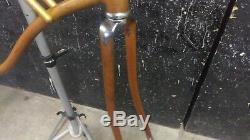 Vintage 1964 Schwinn 26 Coppertone mens bike frame + fork Corvette American