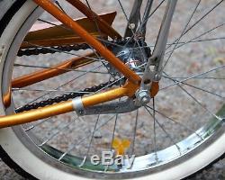 Vintage 1964 Schwinn DELUXE Stingray SOLO POLO Muscle Bike 20 Coppertone J39