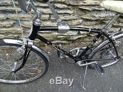 Vintage 1966 Schwinn Stingray Black Fastback Bicycle