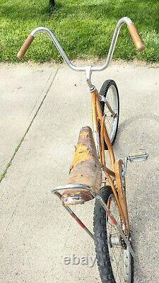 Vintage 1966 Schwinn Stingray Junior Muscle Bike For Restoration Coppertone 20