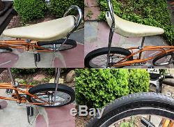 Vintage 1966 Schwinn Stingray Radiant Coppertone