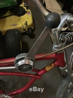 Vintage 1968 Chicago Schwinn Apple Krate Stingray Bicycle Original