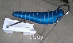 Vintage 1968 Schwinn Stingray Bicycle Blue Mylar Banana Seat Sissy Bar & Q Bolts