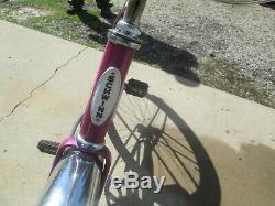 Vintage 1968 Violet Color 26 Schwinn Hollywood Bicycle Bike