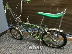 Vintage 1969 Schwinn Pea Picker Sting-ray Bicycle Bike Krate Retro Muscle Old