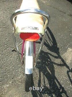 Vintage 1969 Schwinn Sting Ray Purple Fair Lady Girls Bicycle 20 Original Cond