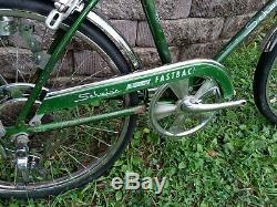 Vintage 1969 Schwinn Stingray 5 speed Fastback bicycle muscle bike not krate S2