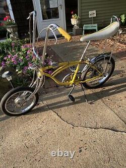 Vintage 1970 Schwinn Krate Lemon Peeler Bicycle, Bike
