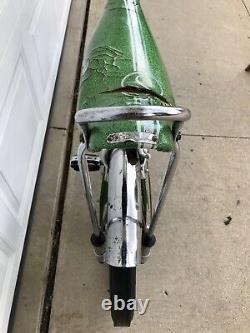 Vintage 1970 Schwinn Stingray Pea Picker, Krate Bicycle, Old 5 Speed Muscle Bike
