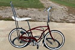 Vintage 1970 Schwinn Typhoon Bicycle restored as Stingray