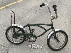 Vintage 1972 Schwinn Stingray Midget 16 Inch Muscle Bike Project Barn Find