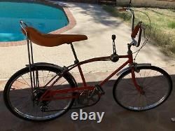 Vintage 1972 Schwinn orange Manta Ray