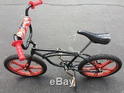 Vintage 1976 Schwin BMX 20 bike with Original Lester Mag wheels