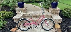 Vintage 1977 Schwinn Fair LadyStingray Stingray Girls Bicycle LOCAL PICK UP