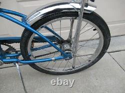 Vintage 1978 Schwinn 3-Speed Stingray Fair Lady Sky Blue Original Bike FP524461