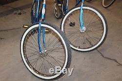 Vintage 1980 Chicago Schwinn Cruiser Original His&hers Bikes
