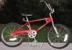 Vintage 1980 SCHWINN SCRAMBLER 36/36 BMX BIKE Old School