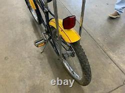 Vintage 1980 Schwinn Tornado BX Rare Dealer add Banana Seat BMX