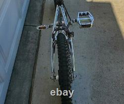 Vintage 1983/84 Schwinn Predator 20 Old School BMX Bike Black Chrome