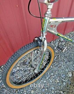 Vintage 1983 Schwinn Predator CR-MO Free 20 BMX Bike Original