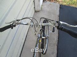 Vintage 1985 Schwinn Sierra Black Chrome Mountain Bike 21 Chrome Moly Frame