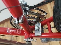 Vintage 1986 Red & White Schwinn Sierra Mountain Bike 26