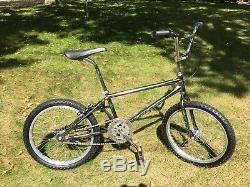 Vintage 1987 SCHWINN PREDATOR 1/4 Dash BMX Race Bike -Cromoly 3140 Frame & Fork
