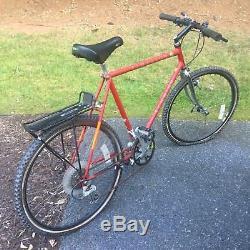 Vintage 1988 Red Schwinn Cimarron Mountain Bike