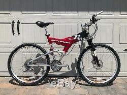 Vintage 1998 Schwinn Homegrown All Mountain LXT Full Suspension Mountain Bike
