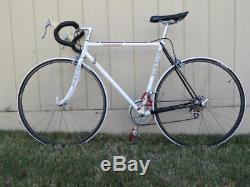 Vintage 80s Schwinn Peloton Columbus Frame Road Bike 53cm Shimano 600 Working