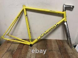 Vintage 90s Schwinn Peloton Road Bike Frame Reynolds 853 Steel 56cm