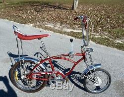 Vintage Apple Krate Schwinn Sting-ray Bicycle