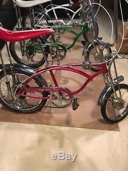 Vintage Apple Krate Schwinn Sting-ray Bicycle Original with Disc Brakes Great Bike